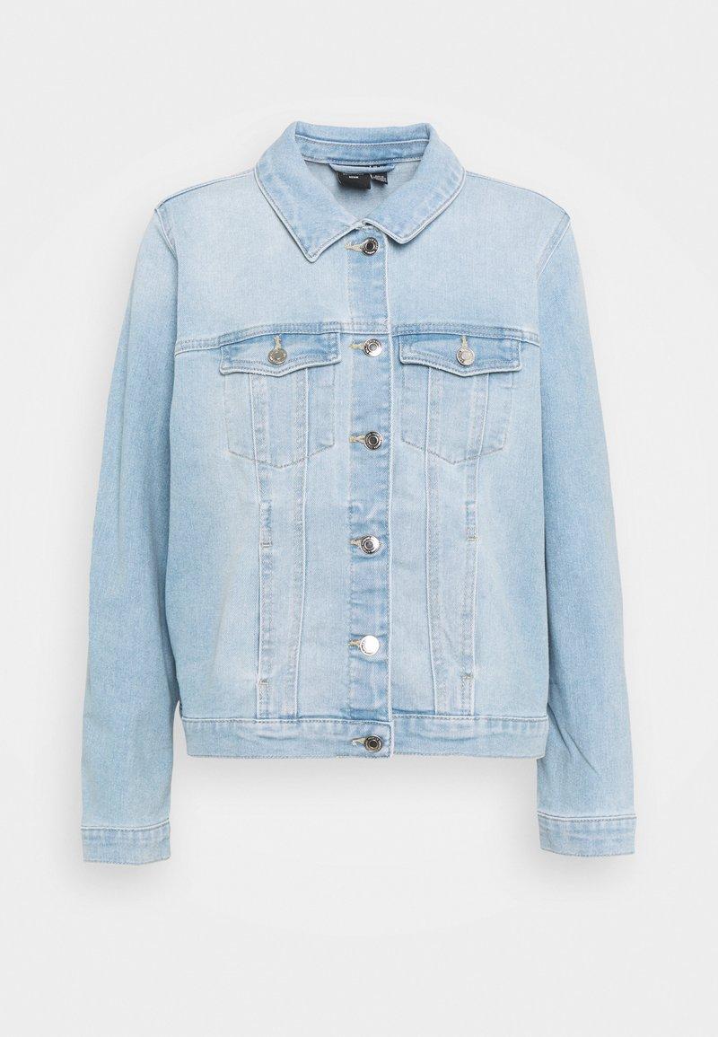 Vero Moda Curve - VMFAITH JACKET - Veste en jean - light blue denim