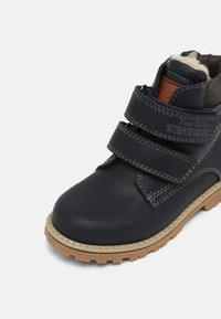 TOM TAILOR - UNISEX - Winter boots - navy - 6