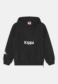 Kappa - ISSAC UNISEX - Sportovní bunda - caviar - 0