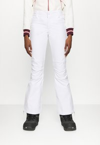Roxy - CREEK - Ski- & snowboardbukser - bright white - 0