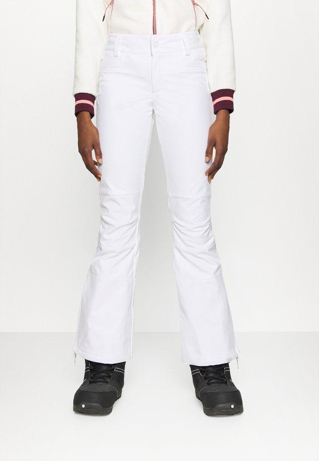 CREEK - Talvihousut - bright white