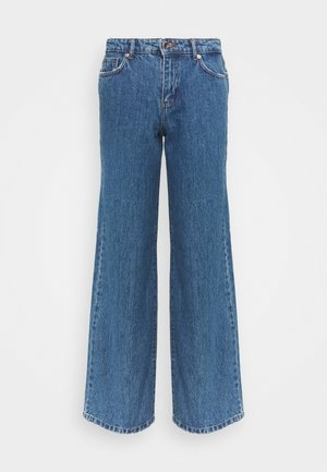 ONLSONNY LIFE WIDE  - Straight leg jeans - medium blue denim