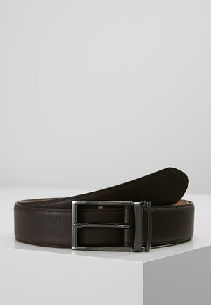 LOOP BUCKLE - Belt business - brown