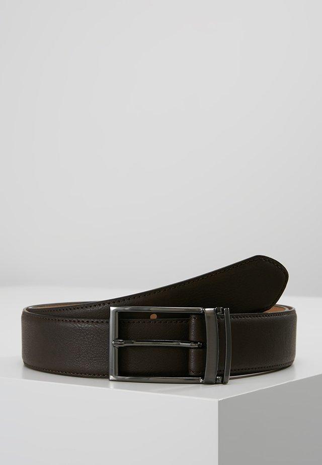 LOOP BUCKLE - Formální pásek - brown