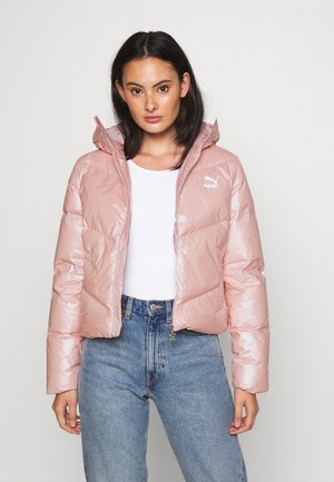 CLASSICS SHINE JACKET - Down jacket - peachskin