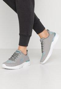 Skechers Sport - SKECH-AIR DYNAMIGHT - Zapatillas - gray/aqua/white - 0