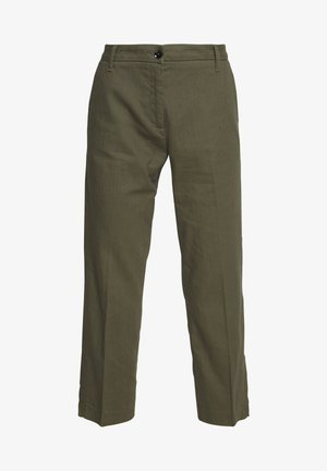 TROUSERS - Trousers - khaki