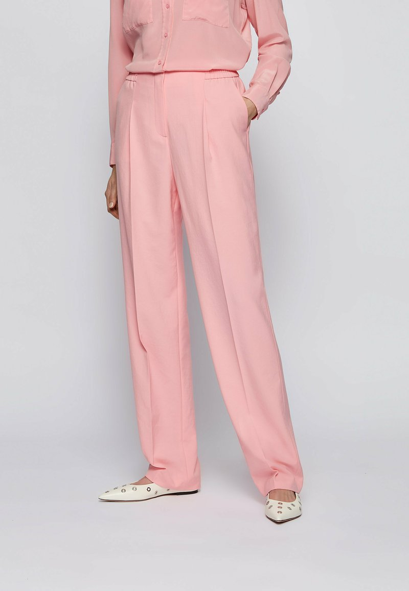 BOSS - Trousers - pink