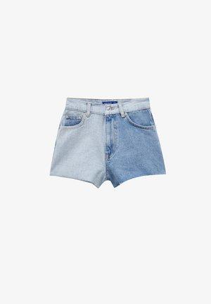 SPACE JAM - Denim shorts - light blue