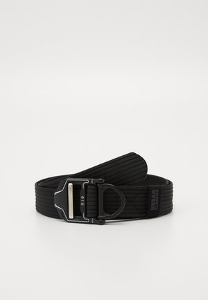 TECH BUCKLE BELT - Skärp - black