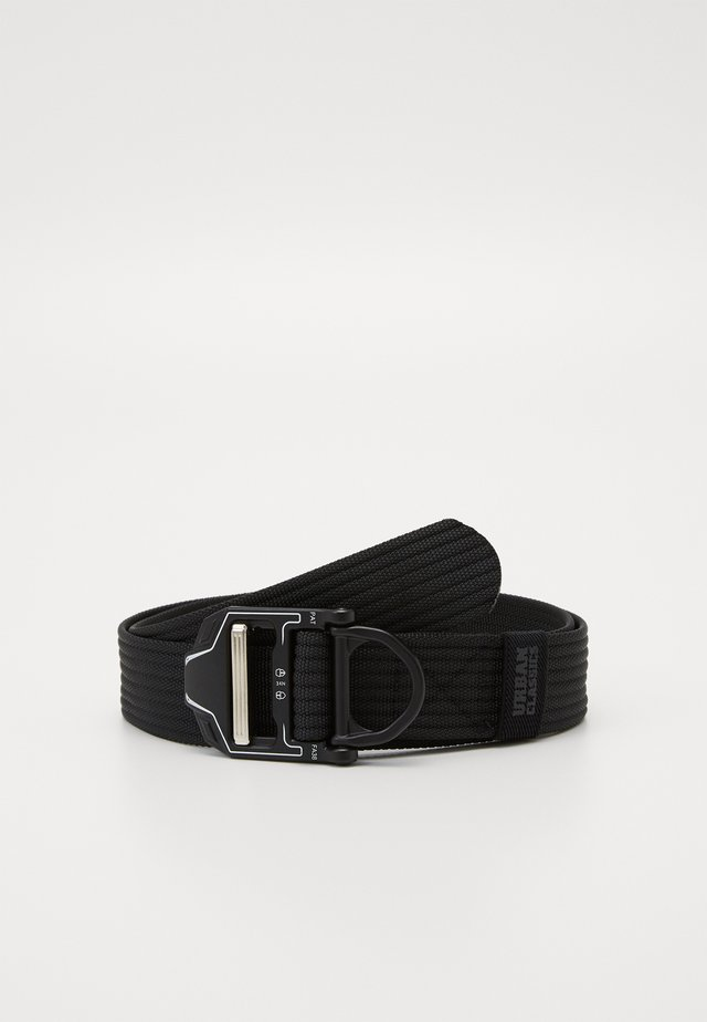TECH BUCKLE BELT - Pásek - black