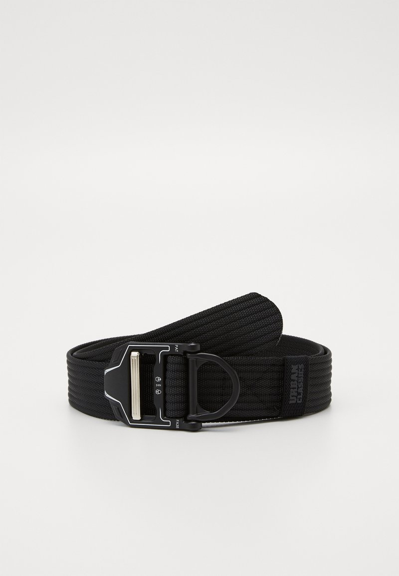 Urban Classics - TECH BUCKLE BELT - Pásek - black