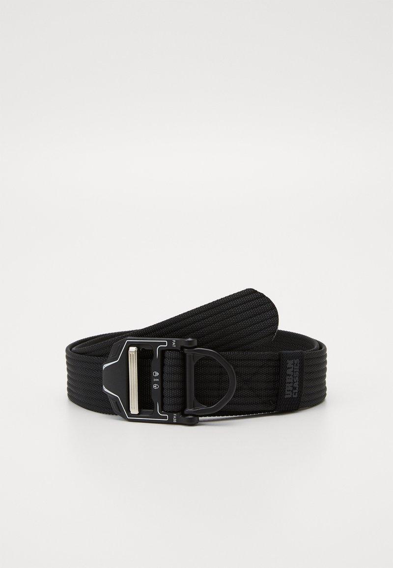 Urban Classics - TECH BUCKLE BELT - Belt - black