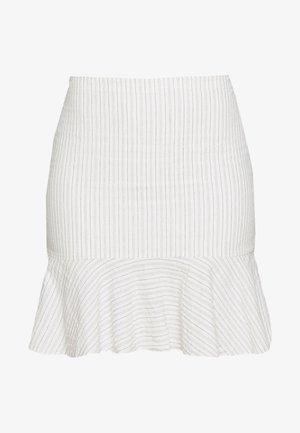 NATTY - Spódnica trapezowa - ecru