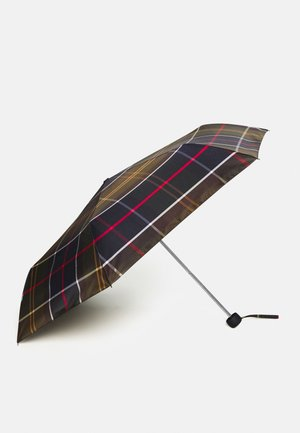 PORTREE UMBRELLA - Umbrella - light brown/dark blue/olive