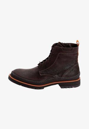 LUCIUS - Šněrovací kotníkové boty - dark brown