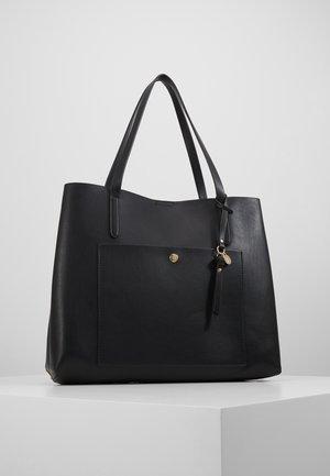SHOPPING BAG / POUCH SET - Tote bag - black