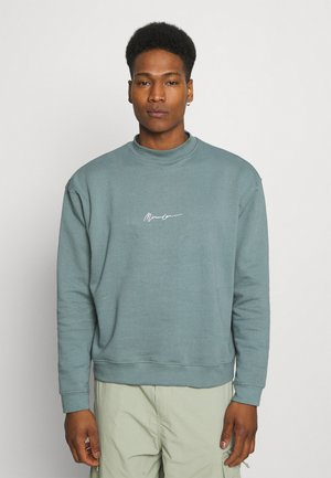 ESSENTIAL SIGNATURE HIGH NECK UNISEX  - Sweatshirts - petrol