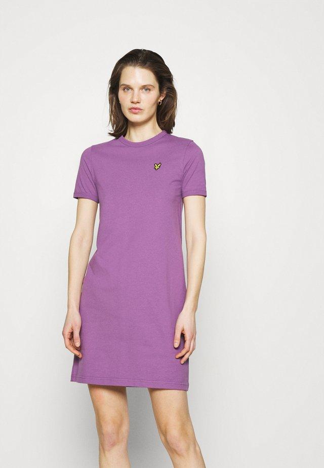DRESS - Sukienka z dżerseju - dark thistle
