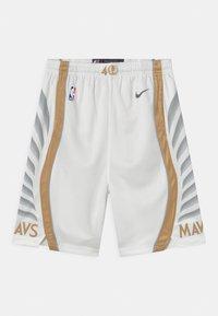 Nike Performance - NBA CITY EDITION DALLAS MAVERICKS UNISEX - Club wear - white - 0