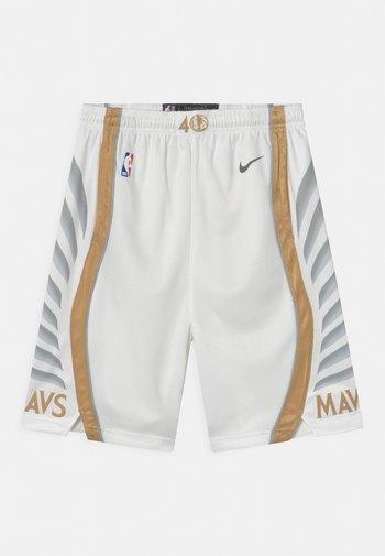 NBA CITY EDITION DALLAS MAVERICKS UNISEX - Club wear - white