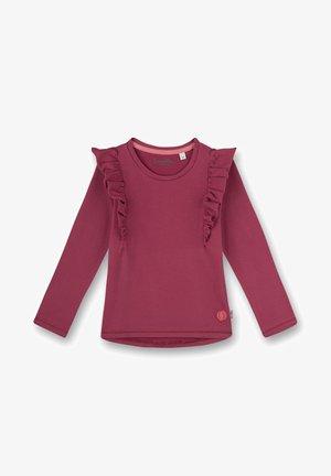 SANETTA SHIRT LANGARM FRUITS  - Long sleeved top - rosa