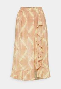 maje - JITYE - Zavinovací sukně - nude - 4
