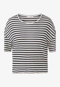 OYSHO - Print T-shirt - dark blue - 4