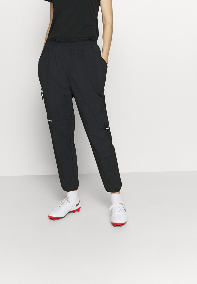 Nike Performance - PANT - Tracksuit bottoms - black/silver