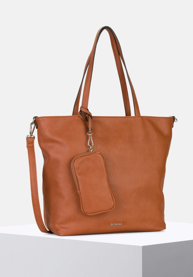 SURPRISE - Shopper - cognac