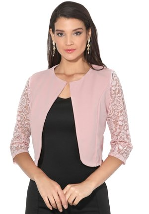EVENING SHRUG - Blazer - pink