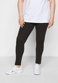 Even&Odd Curvy - 3 PACK - Leggings - black - 2
