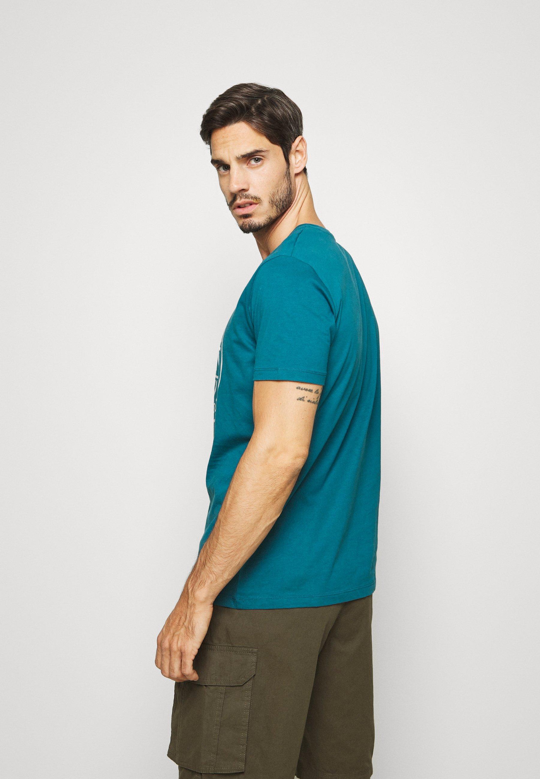 Esprit Print T-shirt - petrol blue TaSkv