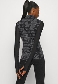 adidas Performance - Long sleeved top - black/white - 2