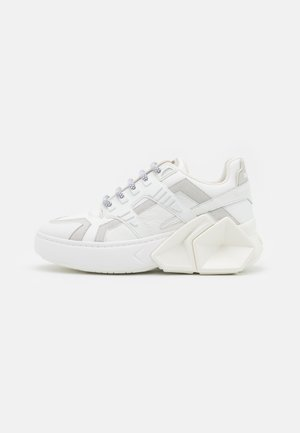 SILVERSTONE UNISEX - Trainers - white