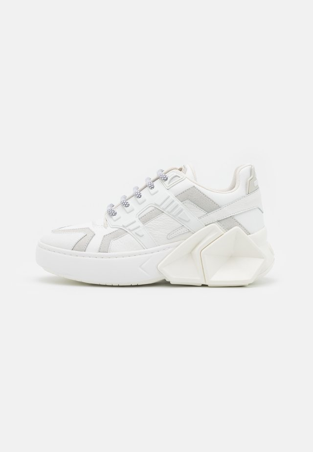 SILVERSTONE UNISEX - Sneakers laag - white