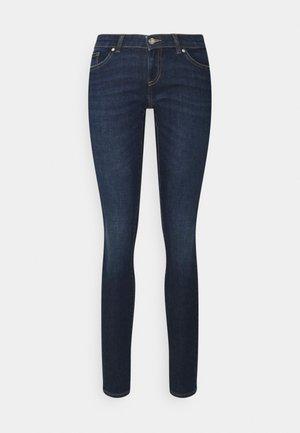 ONLCORAL LIFE - Jeans Skinny Fit - dark medium blue denim