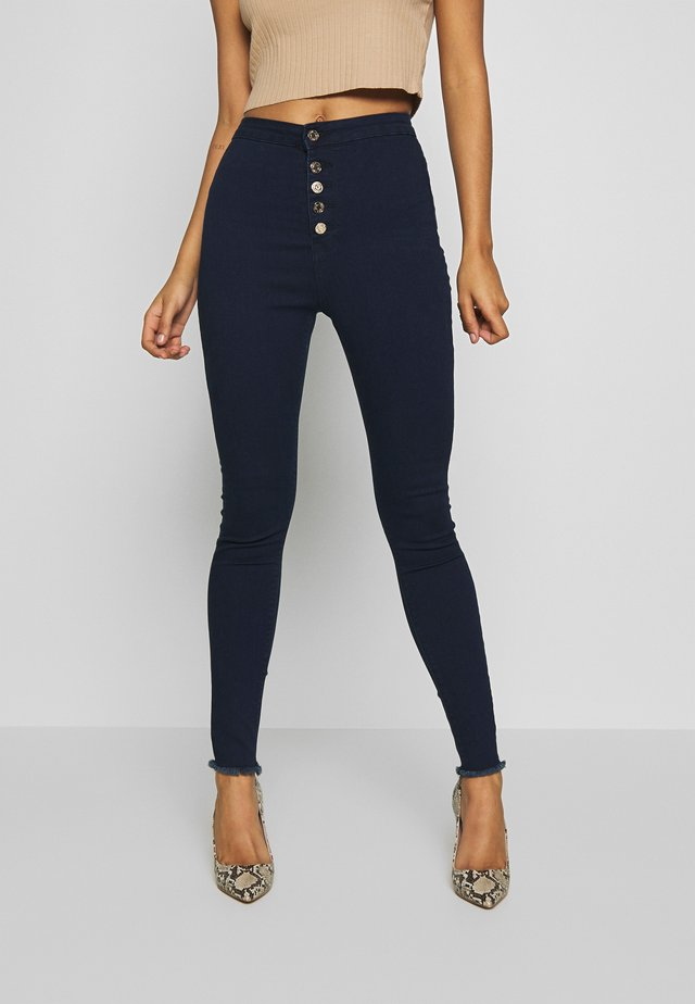 VICE BUTTON UP - Jeans Skinny Fit - blue