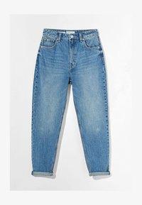 Bershka - MOM FIT JEANS - Jeans baggy - dark blue - 4