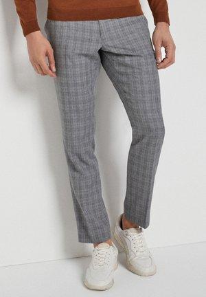 SLIM FIT  - Pantalones chinos - light grey
