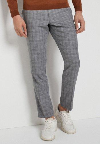 SLIM FIT  - Chino kalhoty - light grey