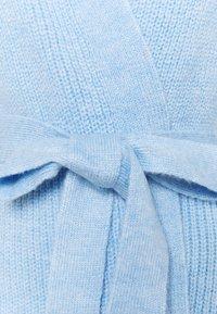 Dorothy Perkins - CHUNKY WRAP LONGLINE - Kardigan - light blue - 2