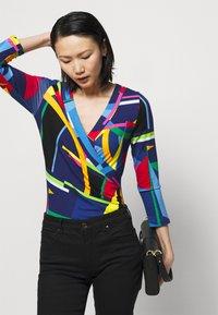 Lauren Ralph Lauren - Long sleeved top - blue/multi - 3
