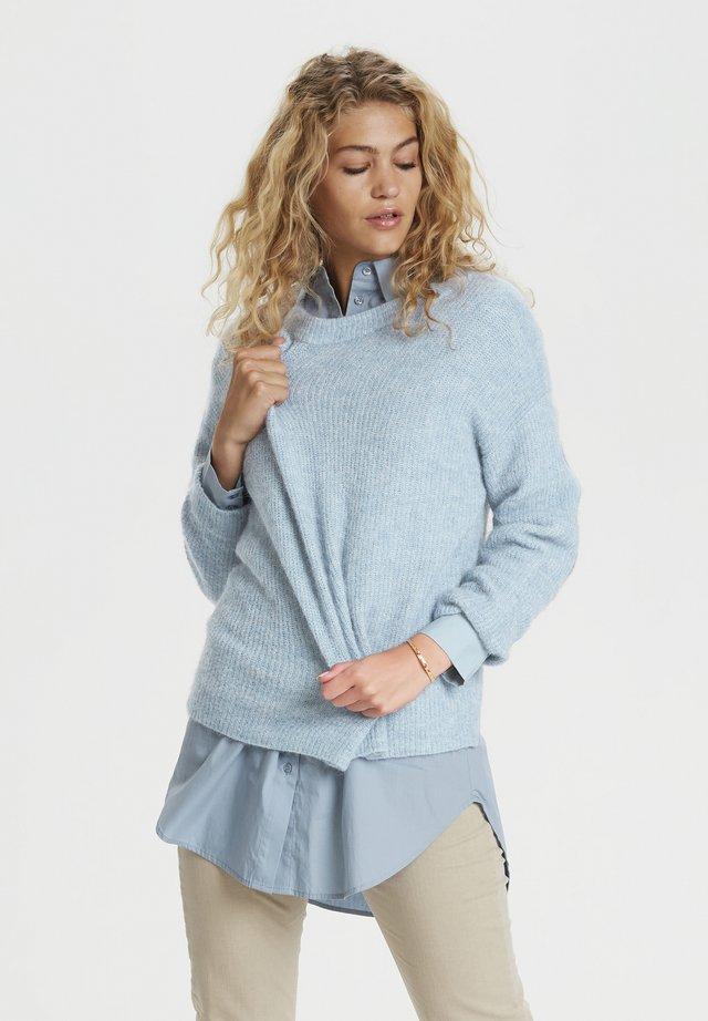 Pullover - ashley blue melange