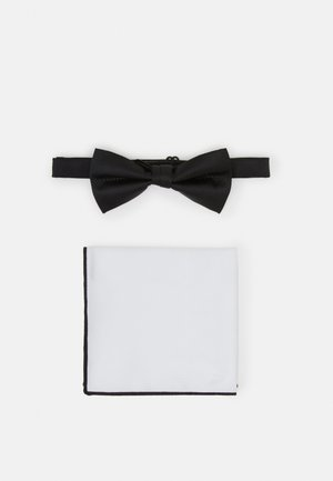 SET - Pocket square - black/white