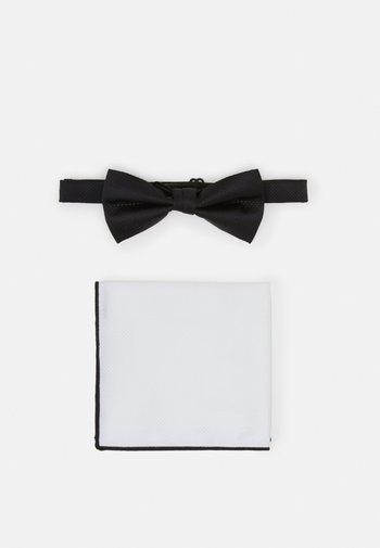 SET - Fazzoletti da taschino - black/white