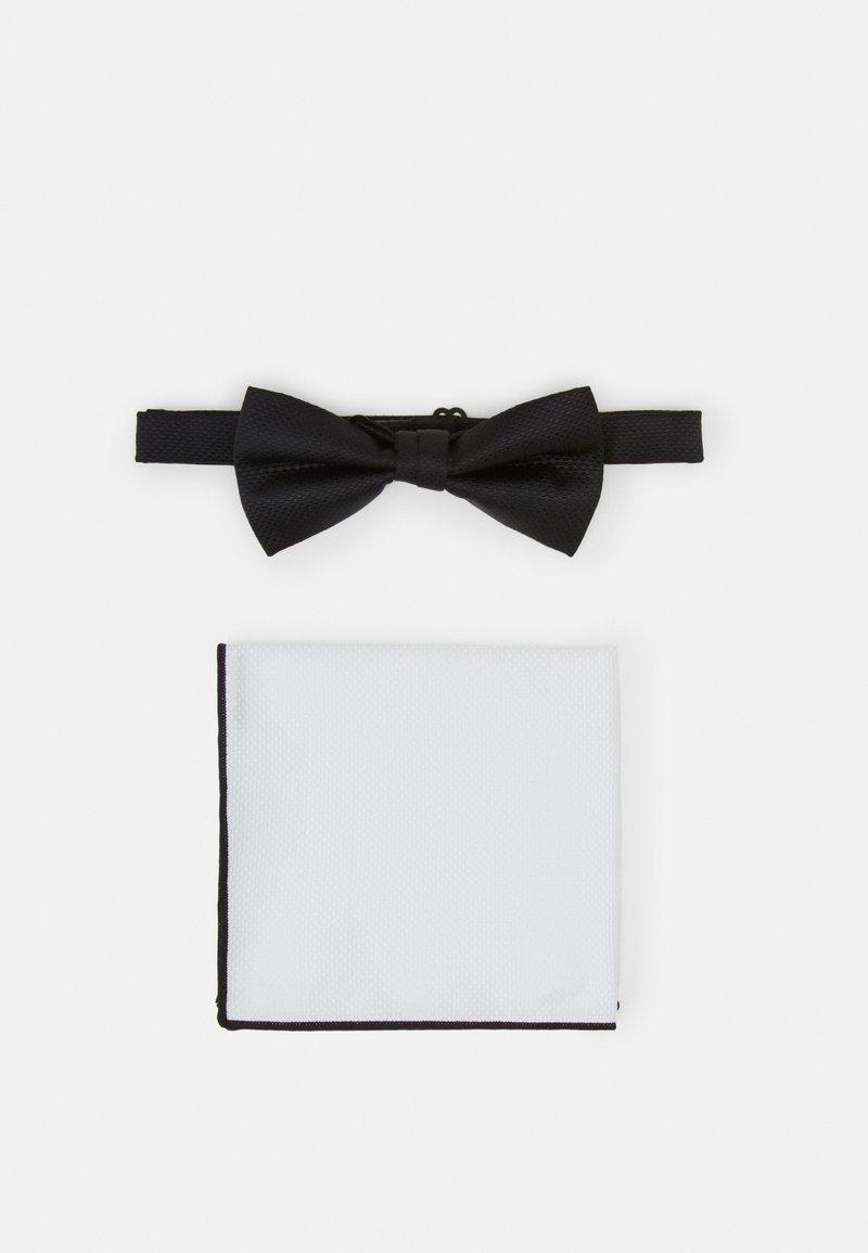 Pier One - SET - Kapesník do obleku - black/white