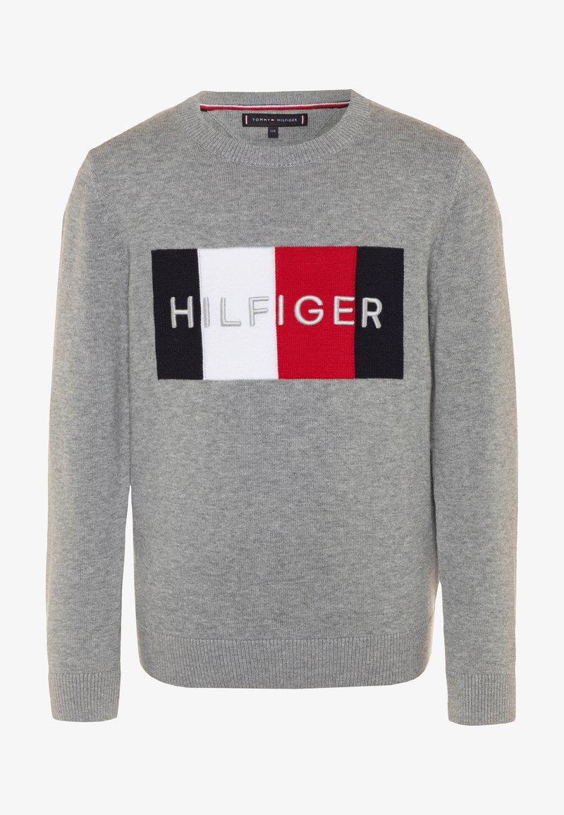 Tommy Hilfiger - LOGO - Svetr - grey