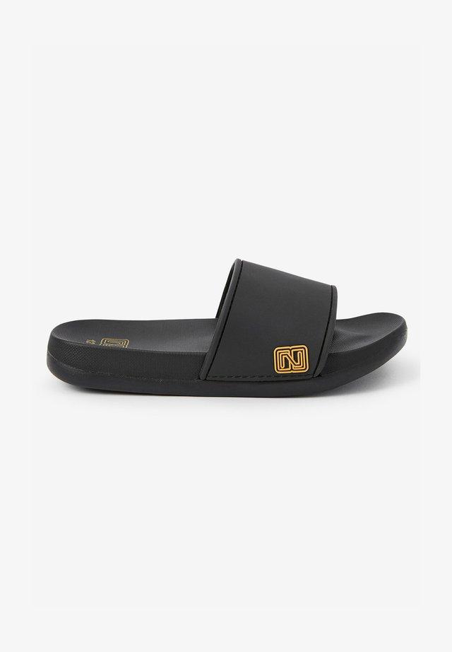 Sandály do bazénu - gold coloured
