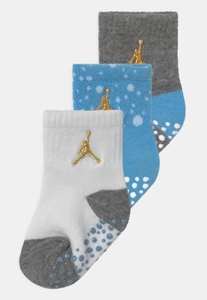 CEMENT GRIP 3 PACK UNISEX - Sports socks - university blue